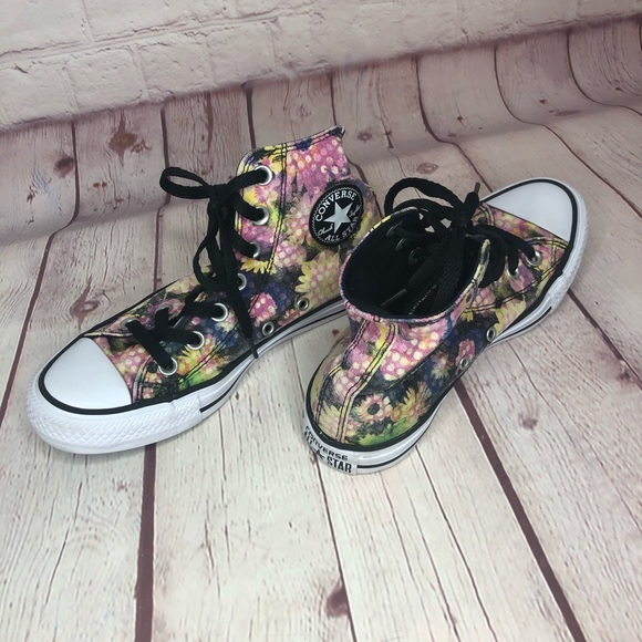 [Converse] Chuck Taylor All Star floral high tops